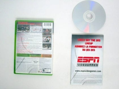 ESPN NHL 2K5 game for Microsoft Xbox | The Game Guy