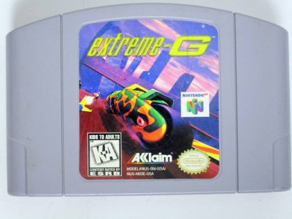 Extreme G game for Nintendo 64 -Loose
