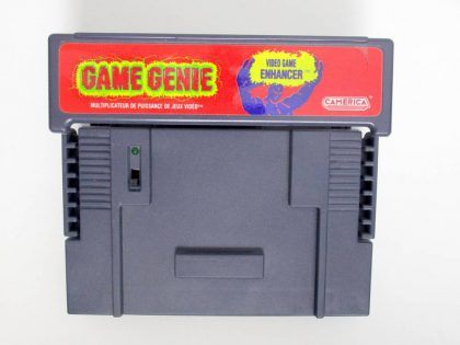 Game Genie game for Nintendo SNES -Loose