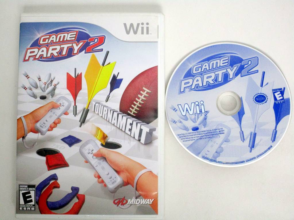 Game Party 2 game for Nintendo Wii -Game & Case