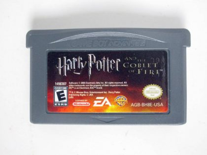 Harry Potter Goblet of Fire game for Nintendo Game Boy Advance -Loose
