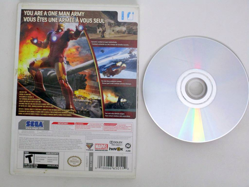 Iron Man game for Nintendo Wii | The Game Guy