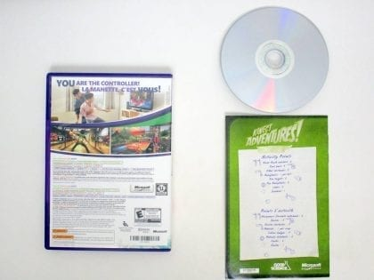 Kinect Adventures game for Microsoft Xbox 360   The Game Guy
