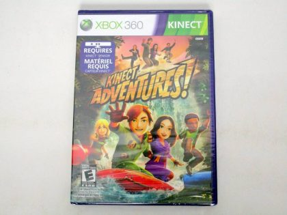 Kinect Adventures game for Microsoft Xbox 360 -New