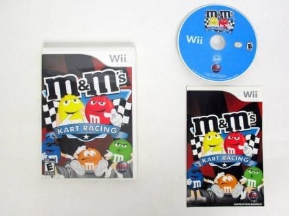 M&M's Kart Racing game for Nintendo Wii -Complete