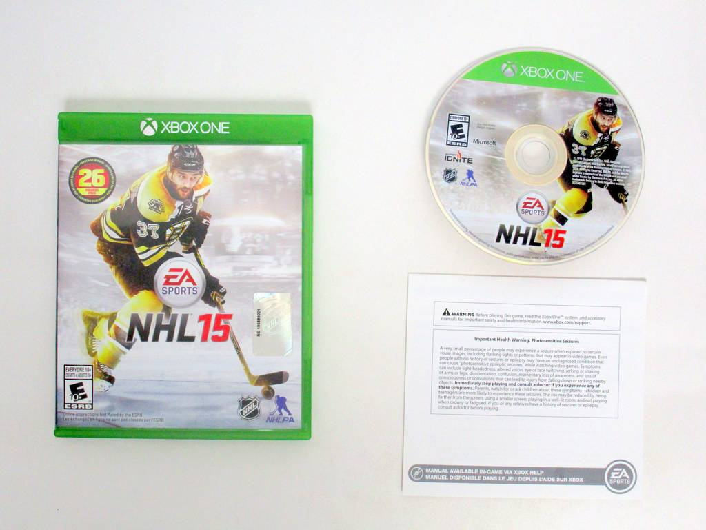 NHL 15 game for Microsoft Xbox One -Complete