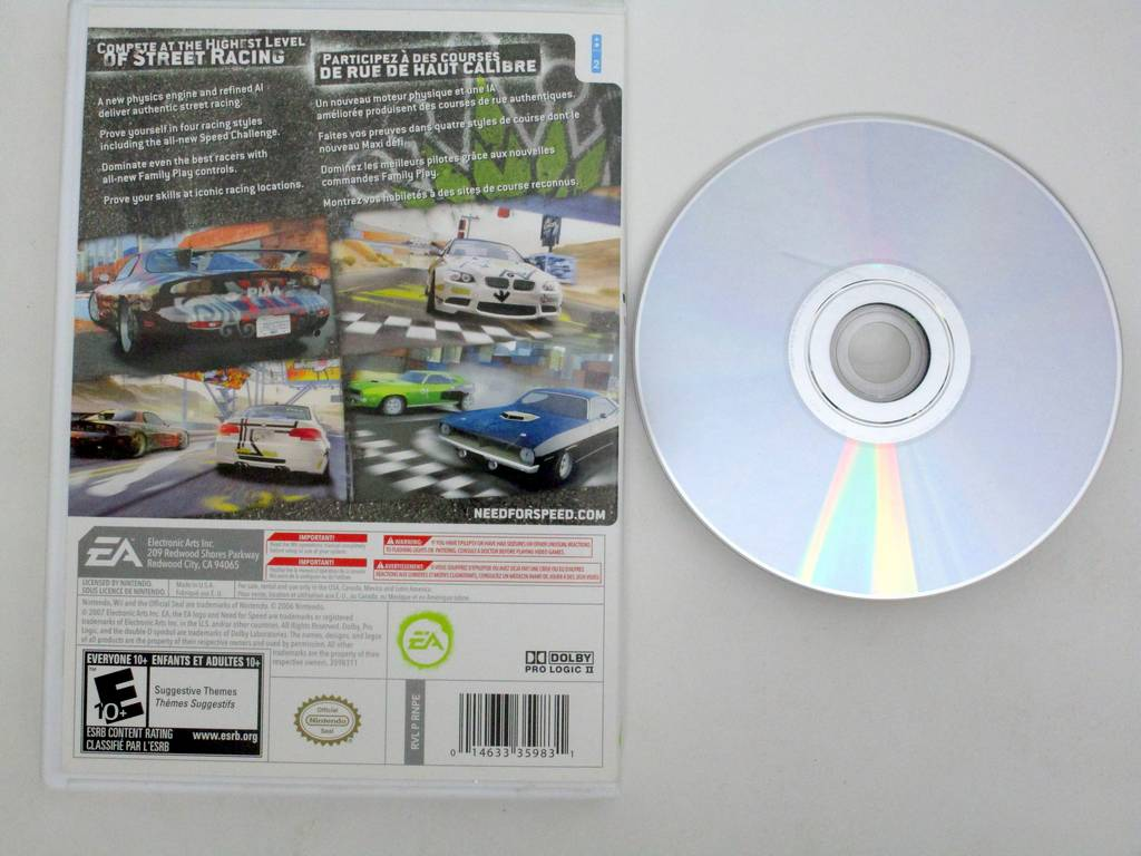 Need for Speed Prostreet game for Nintendo Wii | The Game Guy