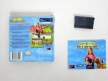 Paws & Claws Pet Resort game for Nintendo Game Boy Advance | The Game Guy