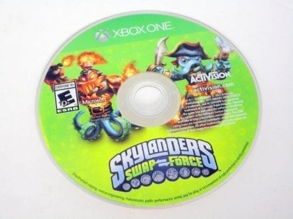 Skylanders Swap Force: Starter Pack game for Microsoft Xbox One -Loose