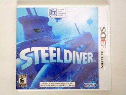 Steel Diver game for Nintendo 3DS -New