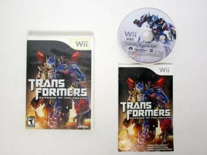 Transformers: Revenge of the Fallen game for Nintendo Wii -Complete