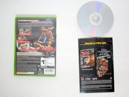 UFC 2009 Undisputed game for Microsoft Xbox 360 | The Game Guy