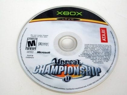 Unreal Championship game for Microsoft Xbox -Loose