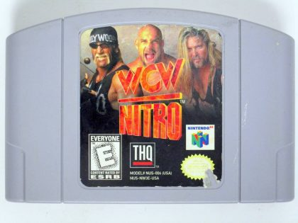 WCW Nitro game for Nintendo 64 -Loose