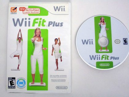 Wii Fit Plus game for Nintendo Wii -Game & Case