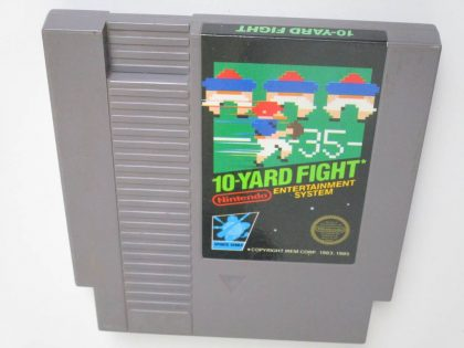 10-Yard Fight game for Nintendo NES -Loose