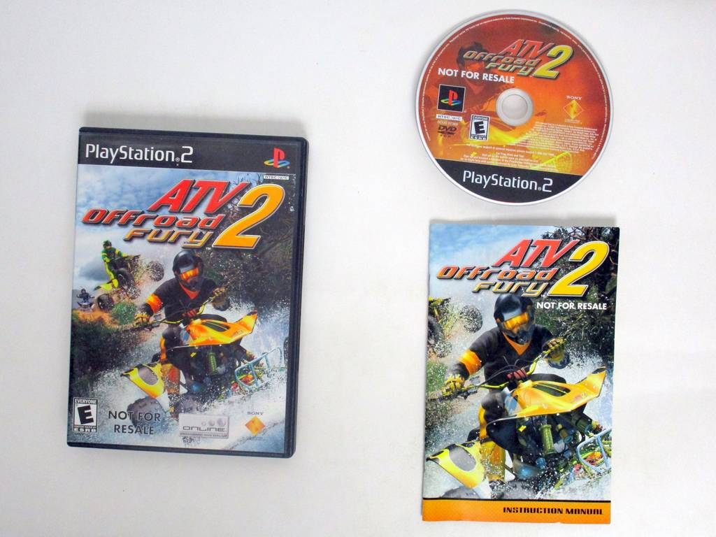 ATV Offroad Fury 2 game for Sony PlayStation 2 -Complete