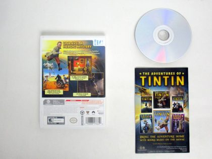 Adventures of Tintin: The Game game for Nintendo Wii | The Game Guy