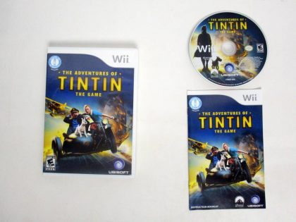 Adventures of Tintin: The Game game for Nintendo Wii -Complete