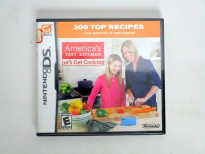 America's Test Kitchen: Let's Get Cooking game for Nintendo DS -New