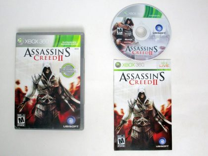 Assassin's Creed II game for Microsoft Xbox 360 -Complete