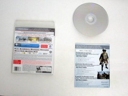 Assassin's Creed III game for Sony PlayStation 3 | The Game Guy