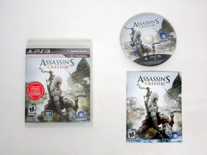 Assassin's Creed III game for Sony PlayStation 3 -Complete
