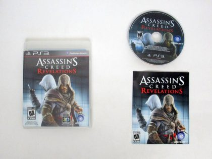 Assassins Creed Revelations game for Sony PlayStation 3 -Complete