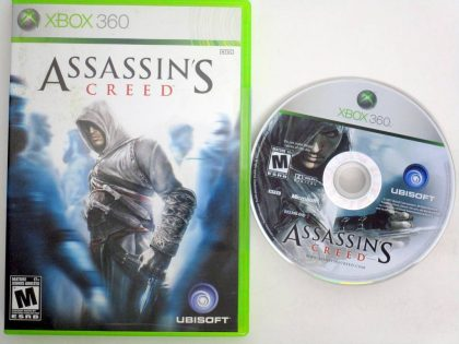 Assassin's Creed game for Microsoft Xbox 360 -Game & Case