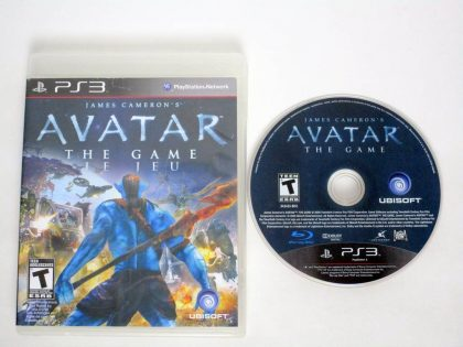 Avatar: The Game game for Sony PlayStation 3 -Game & Case
