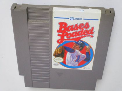 Bases Loaded game for Nintendo NES -Loose