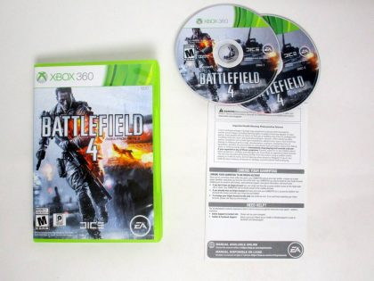 Battlefield 4 game for Microsoft Xbox 360 -Complete