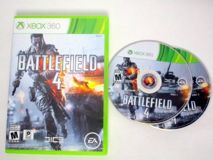 Battlefield 4 game for Microsoft Xbox 360 -Game & Case