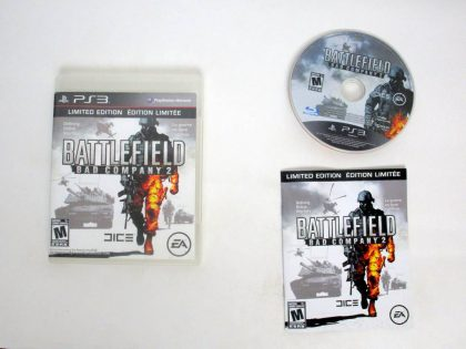 Battlefield: Bad Company 2 game for Sony PlayStation 3 -Complete