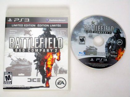 Battlefield: Bad Company 2 game for Sony PlayStation 3 -Game & Case