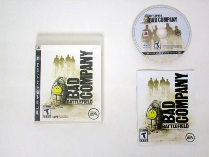 Battlefield Bad Company game for Sony PlayStation 3 -Complete