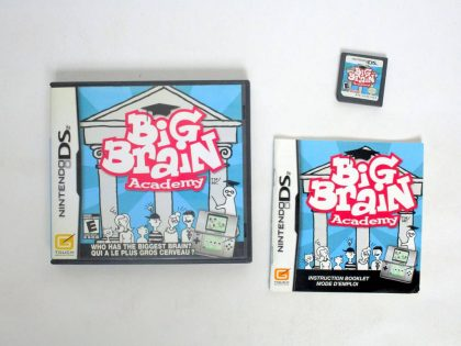 Big Brain Academy game for Nintendo DS -Complete