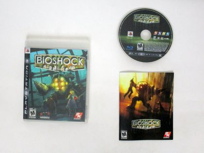 BioShock game for Sony PlayStation 3 -Complete