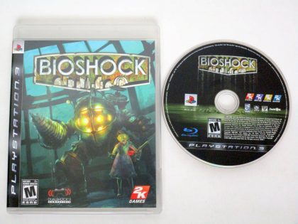 BioShock game for Sony PlayStation 3 -Game & Case
