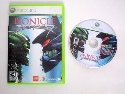 Bionicle Heroes game for Microsoft Xbox 360 -Game & Case