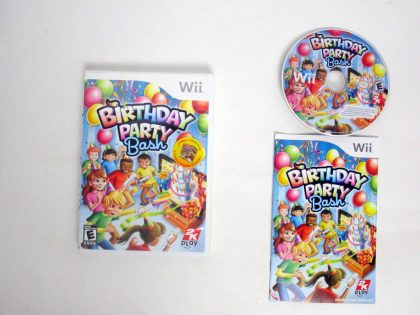 Birthday Party Bash game for Nintendo Wii -Complete