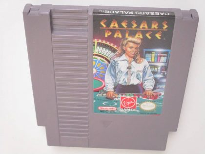 Caesar's Palace game for Nintendo NES -Loose