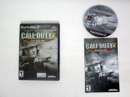Call of Duty 2 Big Red One Collector's Edition game for Sony PlayStation 2 -Complete