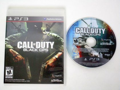 Call of Duty: Black Ops game for Sony PlayStation 3 -Game & Case