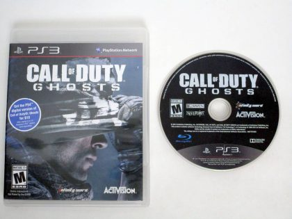 Call of Duty: Ghosts game for Sony PlayStation 3 -Game & Case