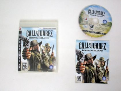 Call of Juarez: Bound in Blood game for Sony PlayStation 3 -Complete