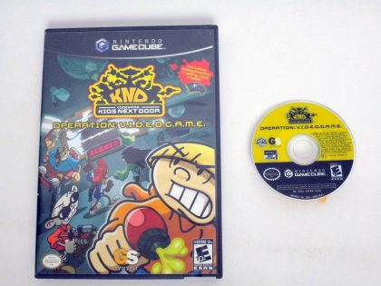 Codename Kids Next Door Operation VIDEOGAME game for Nintendo GameCube -Game & Case
