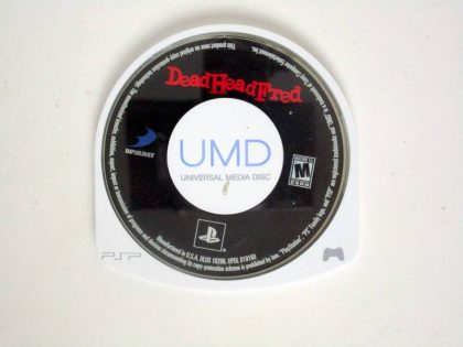 Dead Head Fred game for Sony PSP -Loose