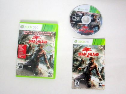 Dead Island Game Of The Year game for Microsoft Xbox 360 -Complete