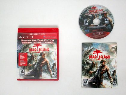 Dead Island Game Of The Year game for Sony PlayStation 3 -Complete
